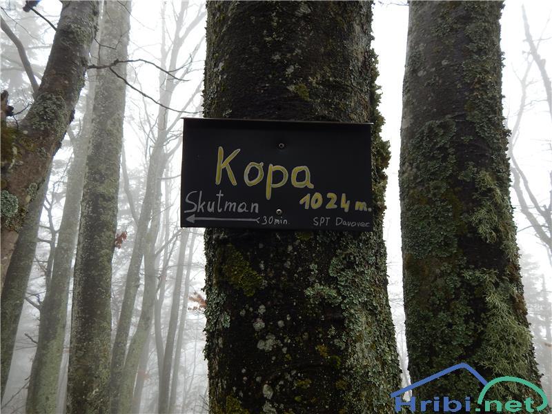 KOPA (PARTIZANSKI VRH)