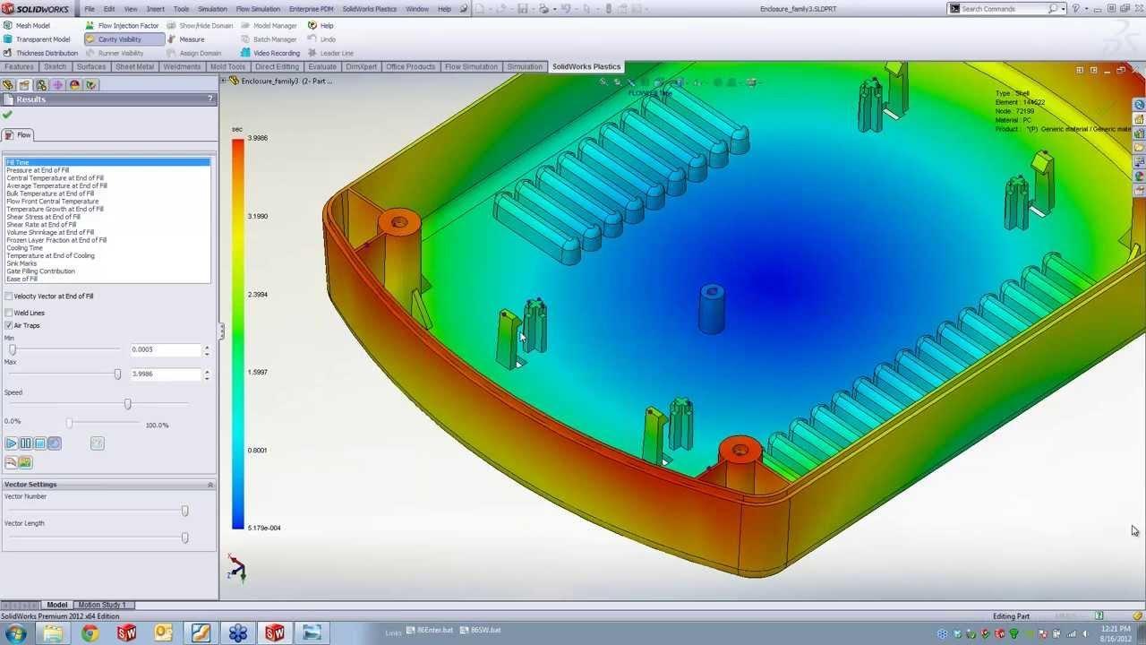 Praktični seminar SolidWorks Plastics