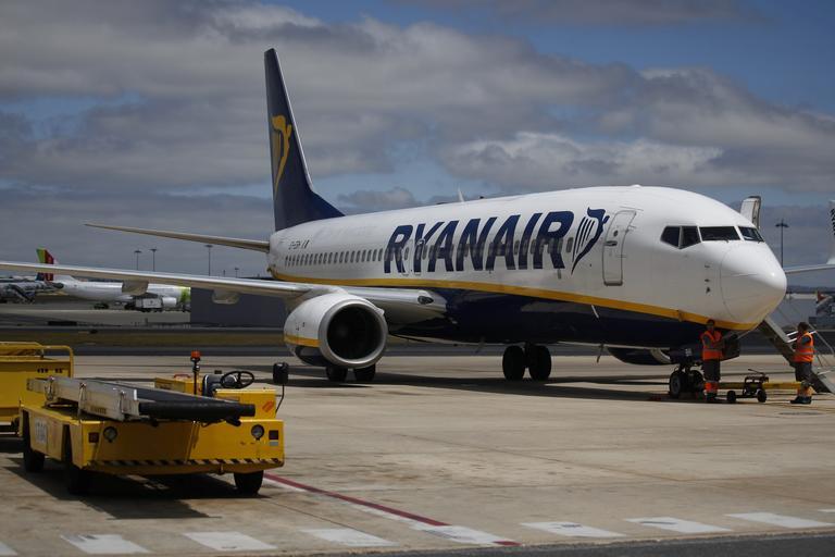 Stavka pilotov prizemljila številna Ryanairova letala