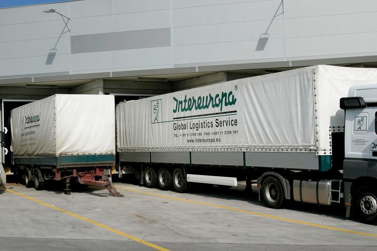 Intereuropini kamioni mikajo Slovence, Turke, Britance