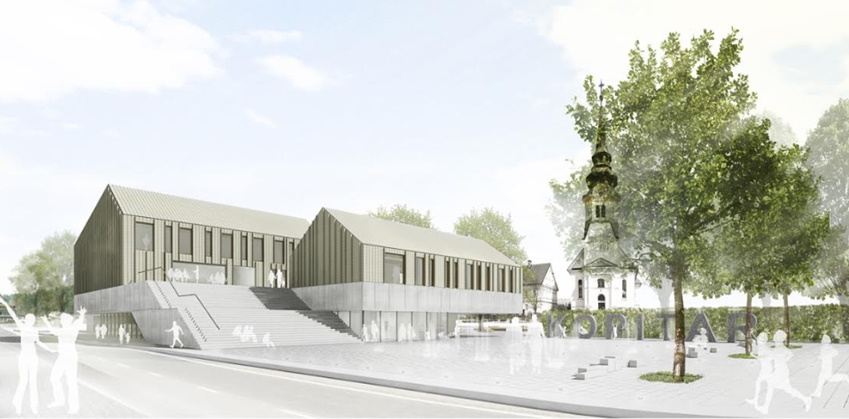 Občina Vodice išče zasebnega partnerja za izgradnjo Kopitarjevega centra