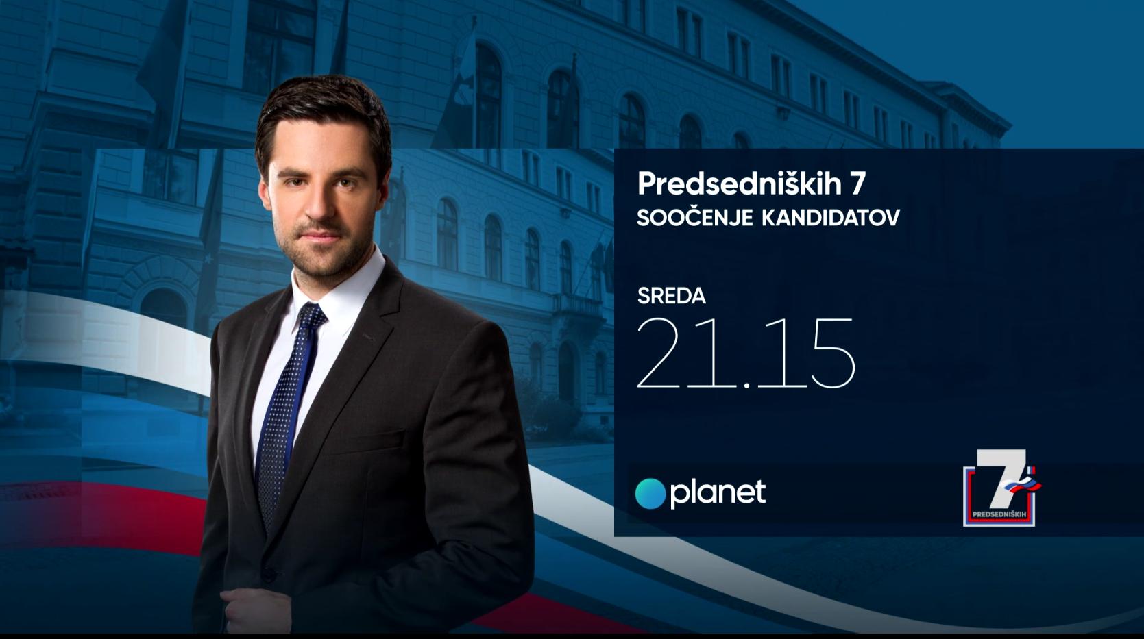Danes soočenje na Planet TV: Postavite vprašanje kandidatom