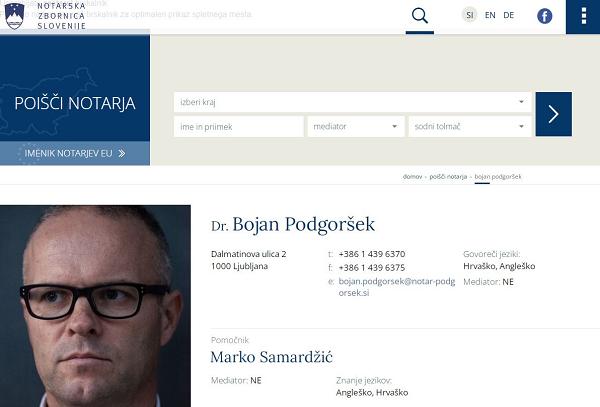 Obišči  http://www.notar-z.si/bojan-podgorsek