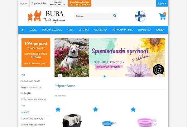 Obišči  https://www.buba-trgovina.si