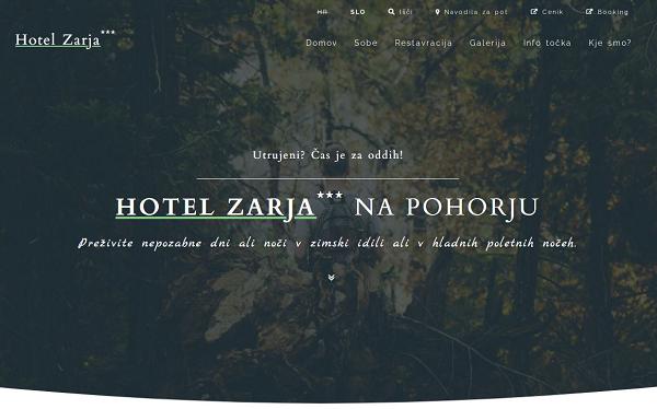 Obišči  https://www.hotel-zarja.si