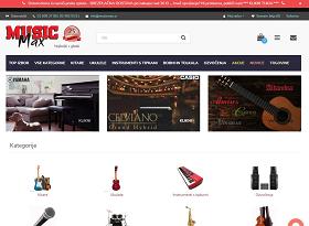 Obišči  http://www.musicmax.si