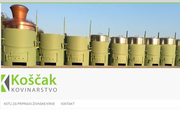 Obišči  http://www.koscak-kotli.si