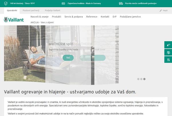 Obišči  https://www.vaillant.si