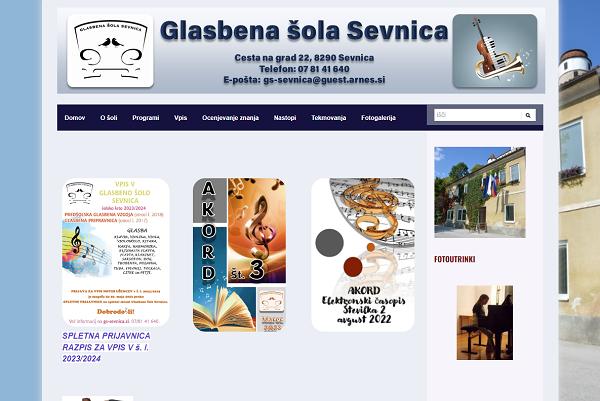 Obišči  http://gssevnica.splet.arnes.si