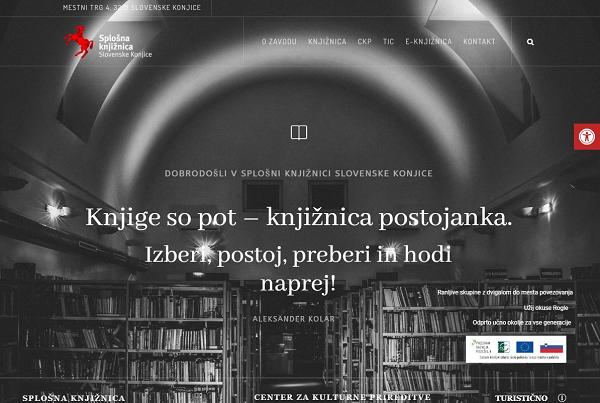 Obišči  http://www.knjiznica-slovenskekonjice.si