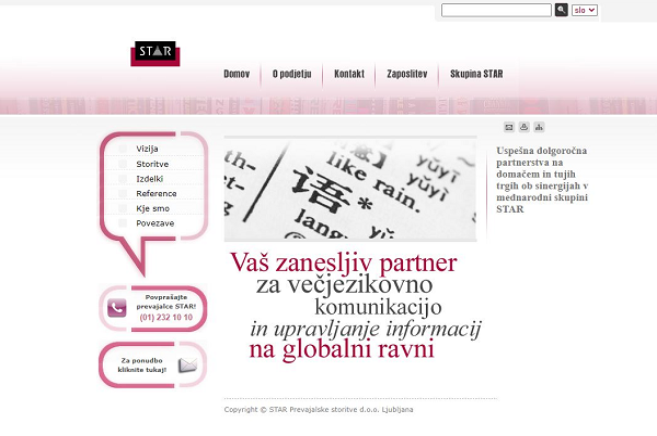 Obišči  http://www.star-ljubljana.si