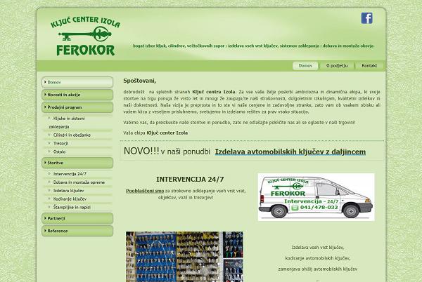 Obišči  http://www.ferokor.si