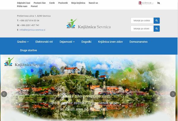 Obišči  http://www.knjiznica-sevnica.si