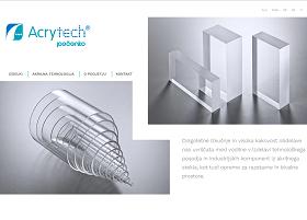 Obišči  http://www.acrytech.si