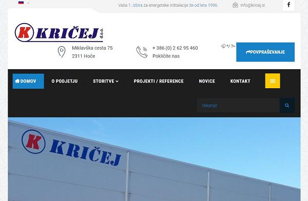 Obišči  http://www.kricej.si
