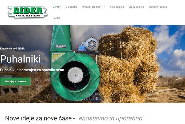 Obišči  http://www.bider.si