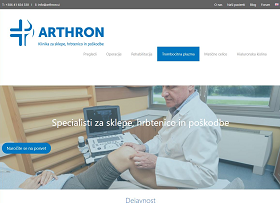 Obišči  http://www.arthron.si