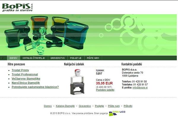 Obišči  http://www.bopis.si