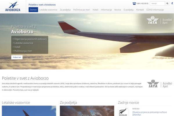 Obišči  http://www.avioborza.si