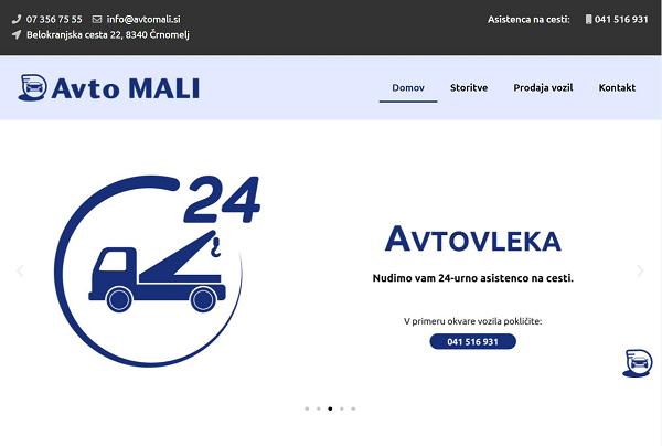 Obišči  http://www.avtomali.si