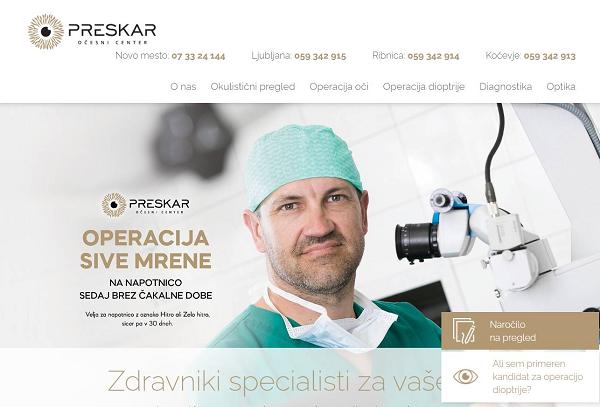 Obišči  http://www.preskar.si