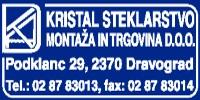 KRISTAL STEKLARSTVO, MONTAŽA IN TRGOVINA D.O.O.