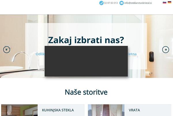 Obišči  https://www.steklarstvokristal.si