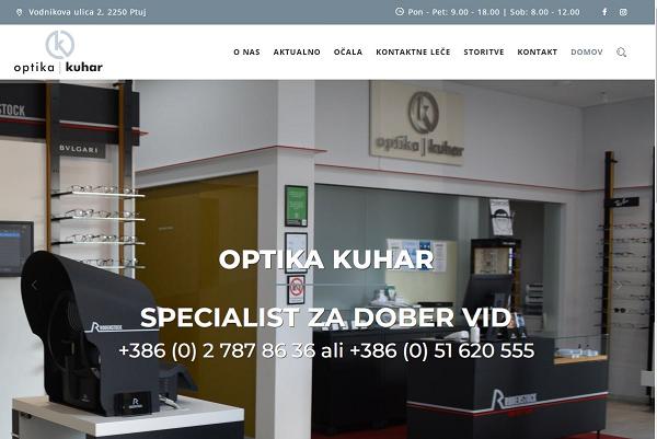 Obišči  http://www.optika-kuhar.si