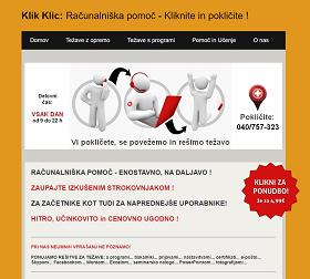 Obišči  http://www.KlikKlic.si