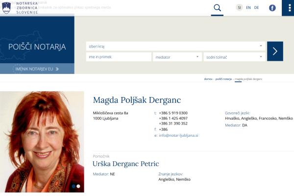Obišči  http://www.notar-z.si/magda-poljsak-derganc