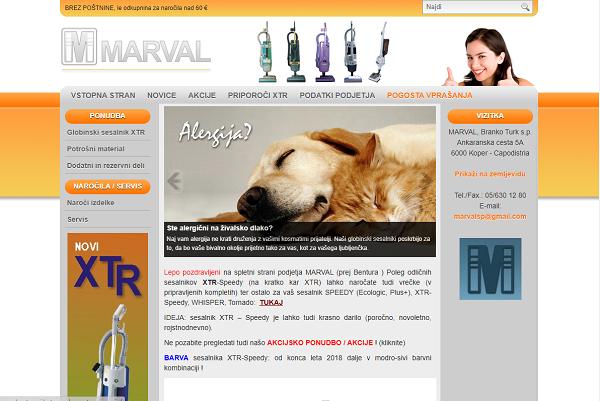Obišči  http://www.bentura.si