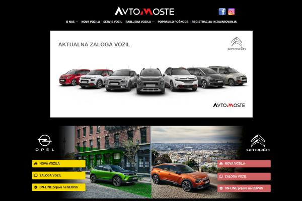 Obišči  https://www.avtomoste.si