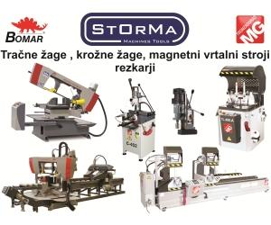 STORMA, PRODAJA STROJEV IN OPREME, IGOR MEGLIČ S.P.