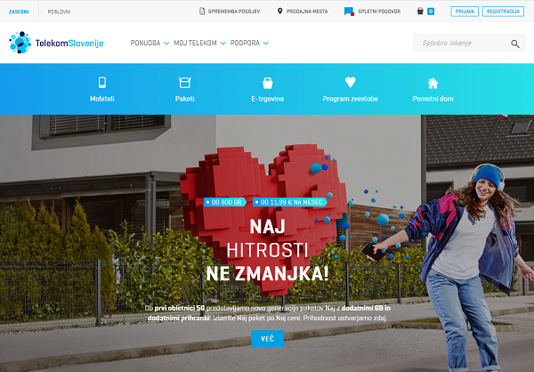 Obišči  http://www.telekom.si