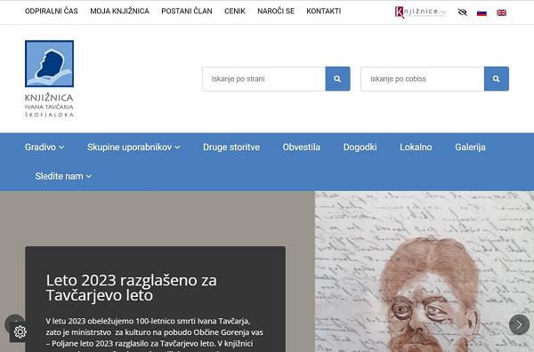 Obišči  http://www.knjiznica-skofjaloka.si