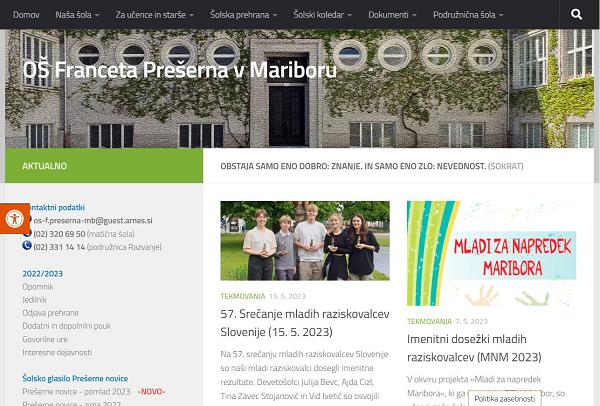 Obišči  http://osfpmaribor.splet.arnes.si