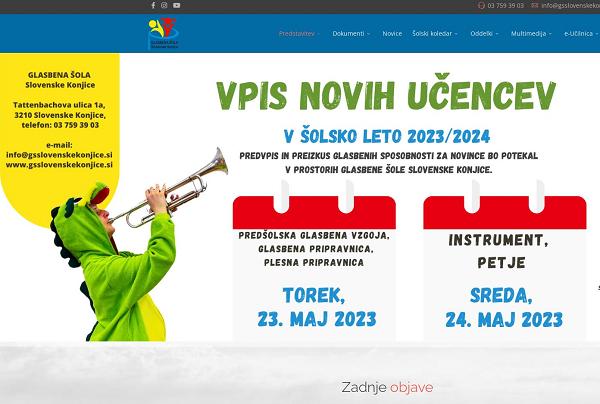 Obišči  http://www.gsslovenskekonjice.si