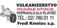 KMETEC FREDI S.P. - VULKANIZERSTVO, POLNJENJE AVTOKLIM