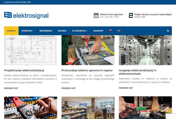 Obišči  http://www.elektrosignal.si