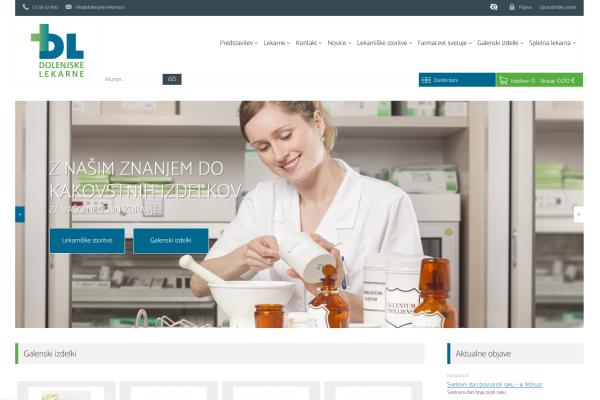 Obišči  http://www.dolenjske-lekarne.si