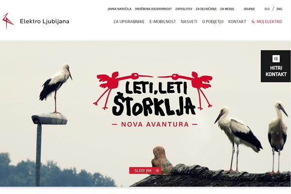 Obišči  https://www.elektro-ljubljana.si