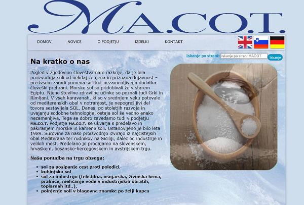 Obišči  http://www.macot.si