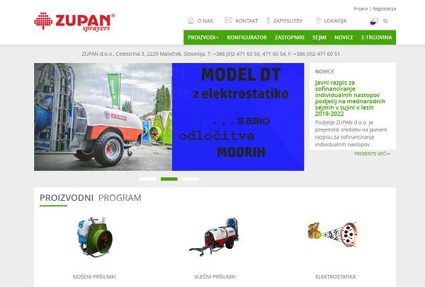 Obišči  http://www.zupan.si
