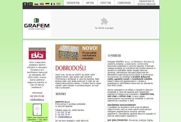 Obišči  http://www.grafem.si