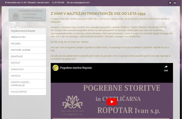 Obišči  http://www.pogrebne-storitve-ropotar.si