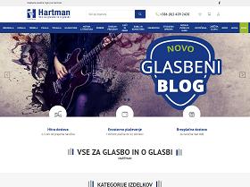 Obišči  http://www.hartman.si