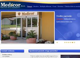 Obišči  http://www.medicor.si
