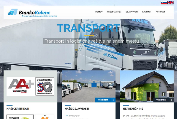 Obišči  http://www.transport-kolenc.si