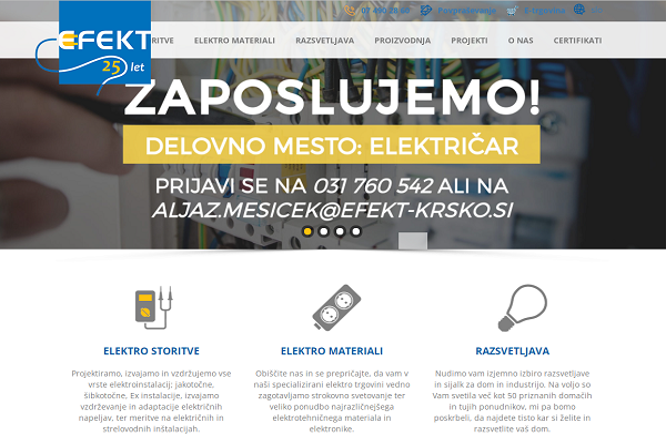 Obišči  http://www.efekt-krsko.si