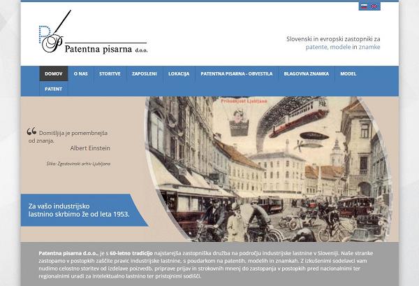 Obišči  http://www.patent.si